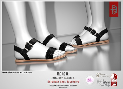 REIGN.- VITALITY SANDALS