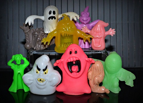 Ghost figures group shot