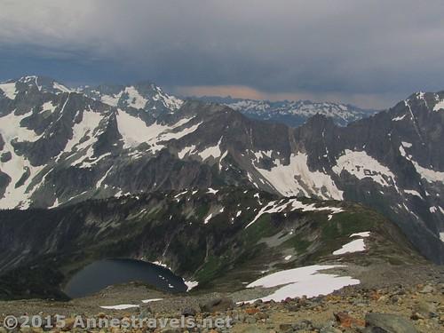 Views from the Sahale Glacier Camp, North Cascades National Park, Washington