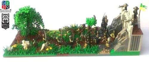 Swamp Orcs attack Port Emerald Gates | by dzidek1983