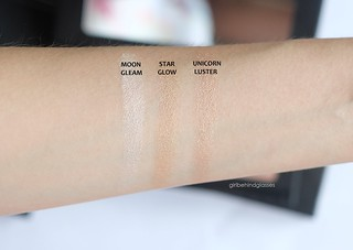Violet Voss Cosmetics Highlighting Powders swatches | by <Nikki P.>