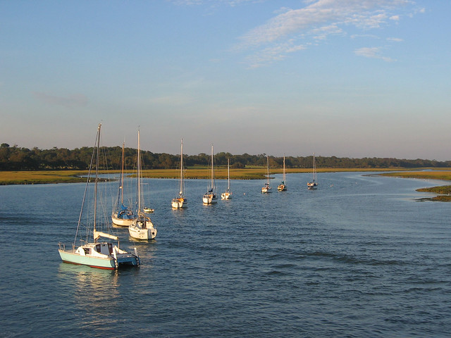 The Lymington River