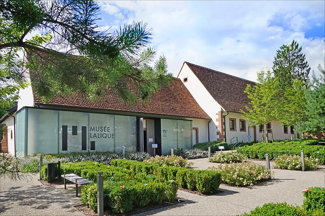Le musée Lalique (Wingen-sur-Moder)