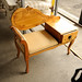 Natural pine telephone table