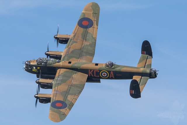 Avro Lancaster PA474, Thumper, Battle of Britain Memorial Flight, RAF Coningsby
