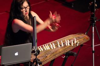 Miya Massoka Keynote lecture/recital @ NIME 2016   by johnrobertferguson