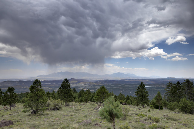 Virga, Larb Hollow Overlook, Dixie National Forest, Garfield County, Utah 1