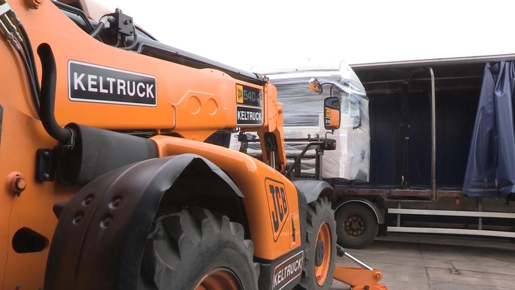 Keltruck Scania exports