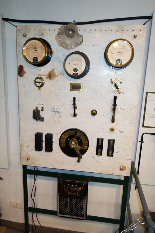 Antique electrical panel