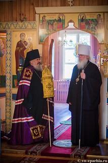 Божественная литургия в пос.Котово 280