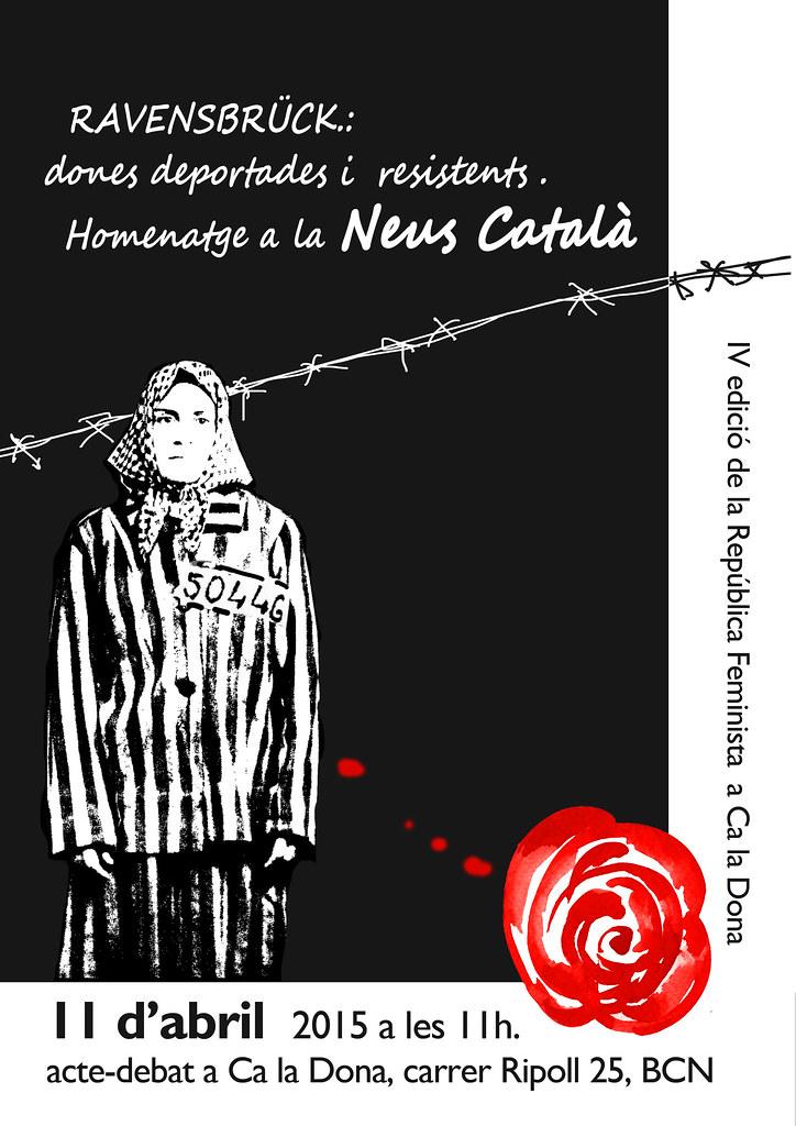 Cartell Ca La Dona. Acte IV República Feminista