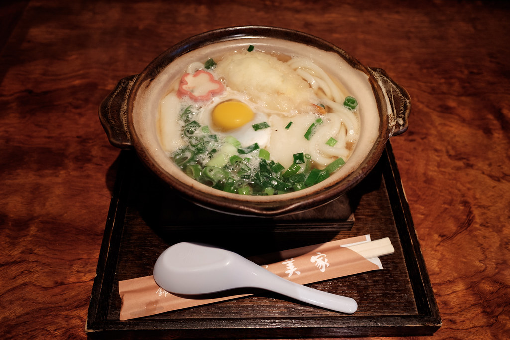 錦市場・冨美家のうどん 2016/09/25 X7002287