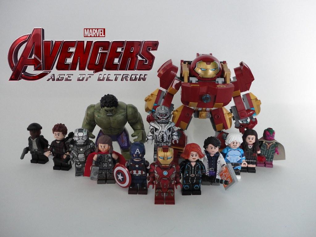 Lego Avengers Age of Ultron - Custom Minifigures | First ...