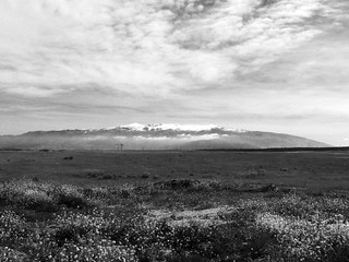 Sierra Nevada desde Escúzar