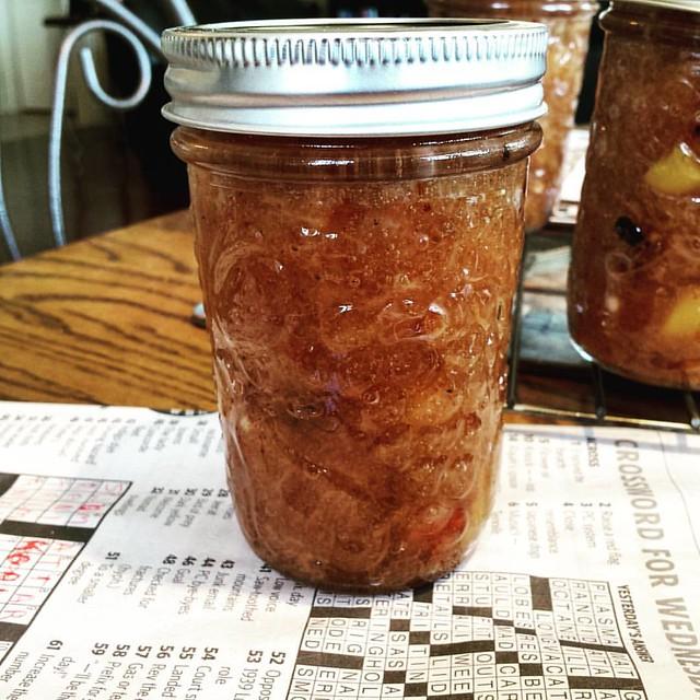 Roasted Peach Jam