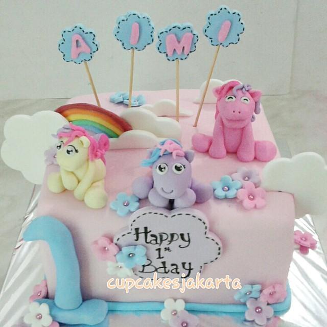 Super Cute My Little Pony Birthday Cake Info 08138038