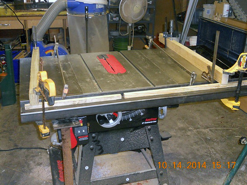 Hank Kennedy table saw project - diy guide rails 19 | by VerySuperCool TOOLS