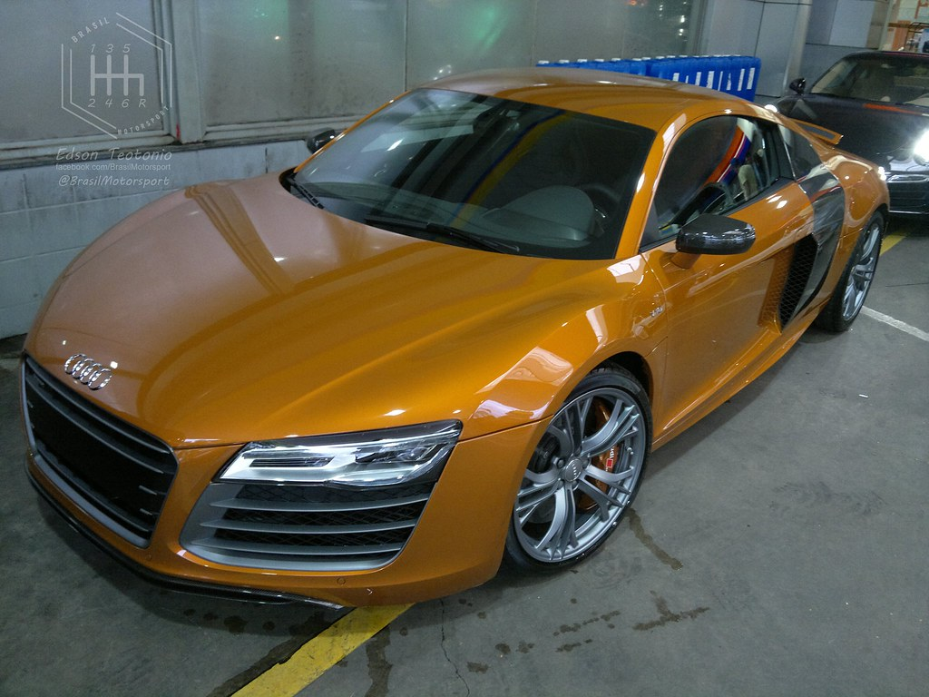 Audi R8 V10 Plus Cor Orange Samoa A Photo On Flickriver