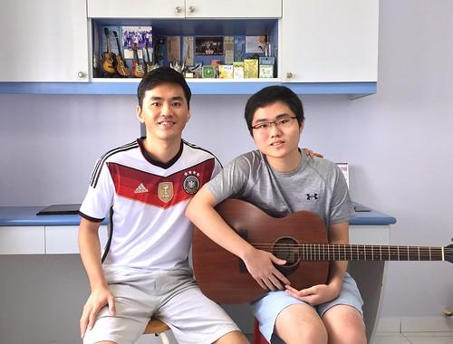 Beginner guitar lessons Singapore Jarrel