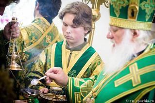 Божественная Литургия в д.Леохново 400