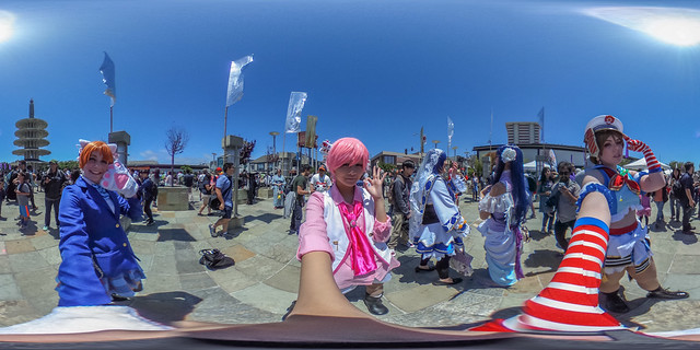 SF Anime Festival & Cosplay 2016 in 360