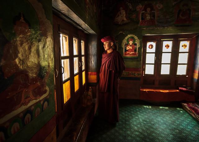 Serenity - Hemis Monastry, Ladakh, India