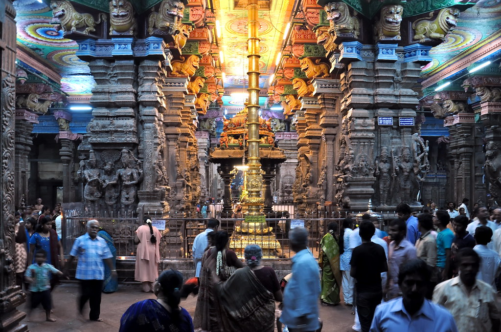 India - Tamil Nadu - Madurai - Meenakshi Temple - 75 | Flickr