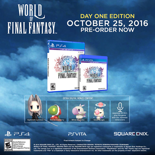 World of Final Fantasy, PS4 | by PlayStation.Blog
