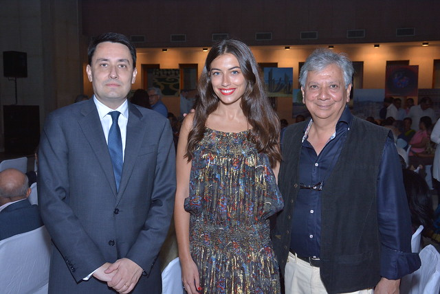 "French Ambassador hosts India premiere of World War I film ""Farewell My Indian Soldier"" by Vijay Singh"