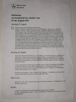 MR - Reise 2005