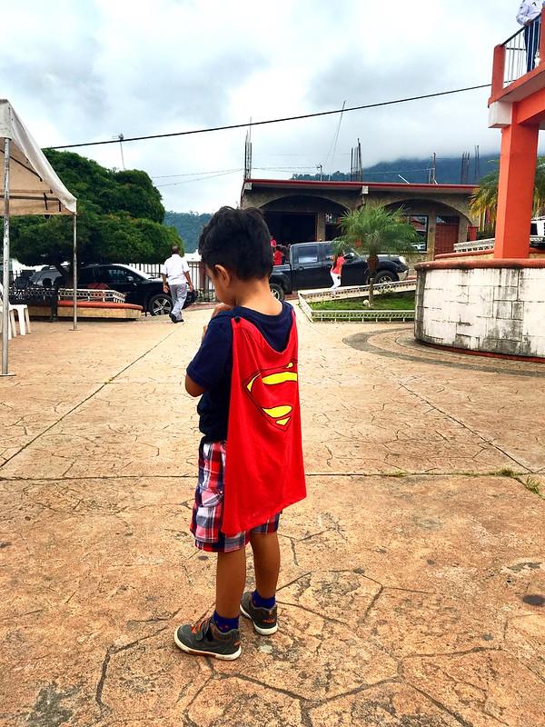 I've just spotted Superman!!