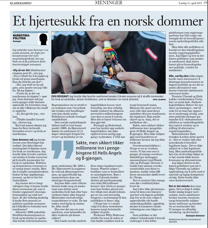 KK hjertesukk fra norsk dommer
