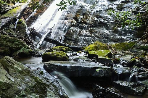 nature water georgia landscape rocks waterfalls nantahalanationalforest nikond7000 tallulahbasin flatbranchfalls