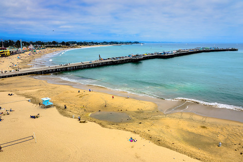 ocean california santa ca usa santacruz west beach sc water america bay coast pier us dock warf unitedstates pacific calif cruz shore wharf westcoast beachfront