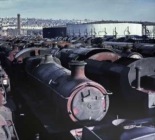 From Armageddon to Resurrection - Steam loco's at Barry Scrapyard 03-03-1968