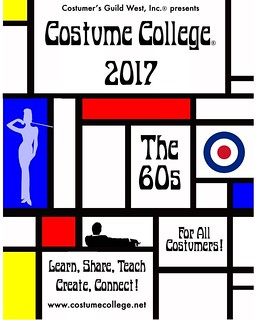 For those who didn't get to see this at #costumecollege2016 here is the preliminary flyer for #costumecollege2017!   We're still confirming various details like dates and individual event themes so please be patient. More details will be posted when we ha