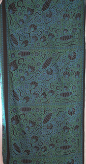 'Limpets' printed on cotton
