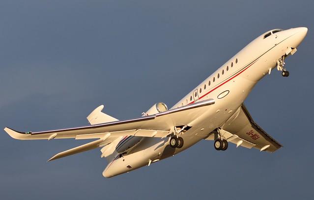 3A-MGA Dassault Falcon 8X