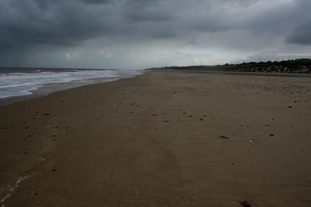 The beach at Hemsby