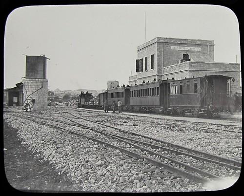 jerusalem train station railway israel palestine steam locomotive blw baldwin gare 1890 jj רכבת ירושלים ישראל קטר القُدس explore