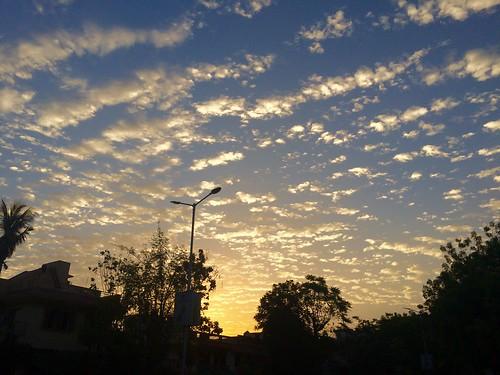 sun sunrise clouds sky morning