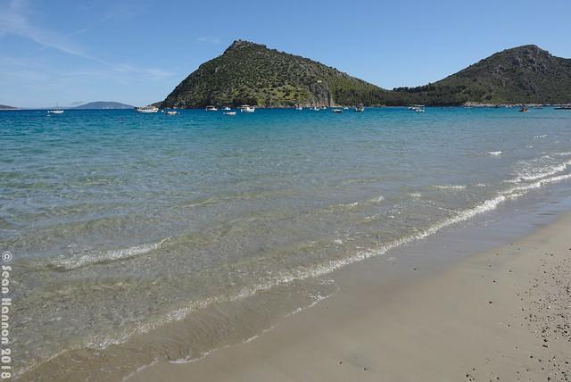 Beach in Tolo