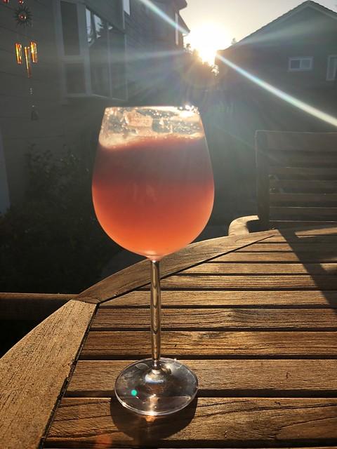 Sundown - Time for a Watermelon Margarita!