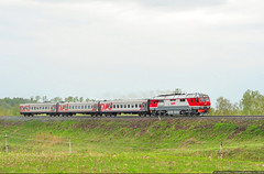 "Train Biysk - Barnaul ""Vostok"" (""East"")"