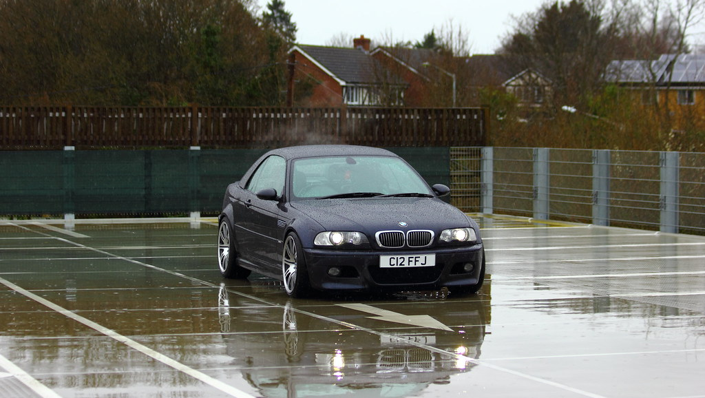 Bmw E46 M3 Convertible Hardtop In Carbon Black Cliff Judson Flickr