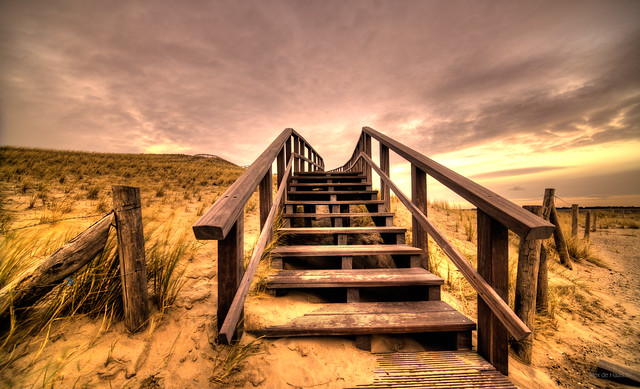 Stairway to the heavens above.