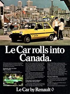 1978 Renault Le Car (Canada)