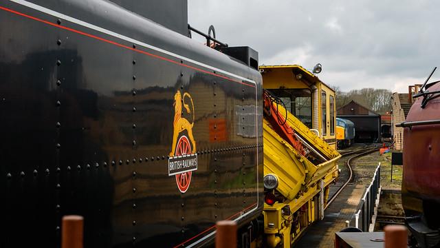 Train Stabling: Nene Valley Railway