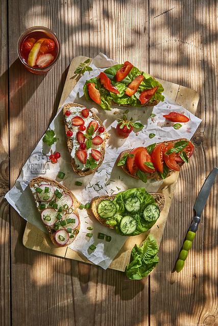 Spring sandwiches