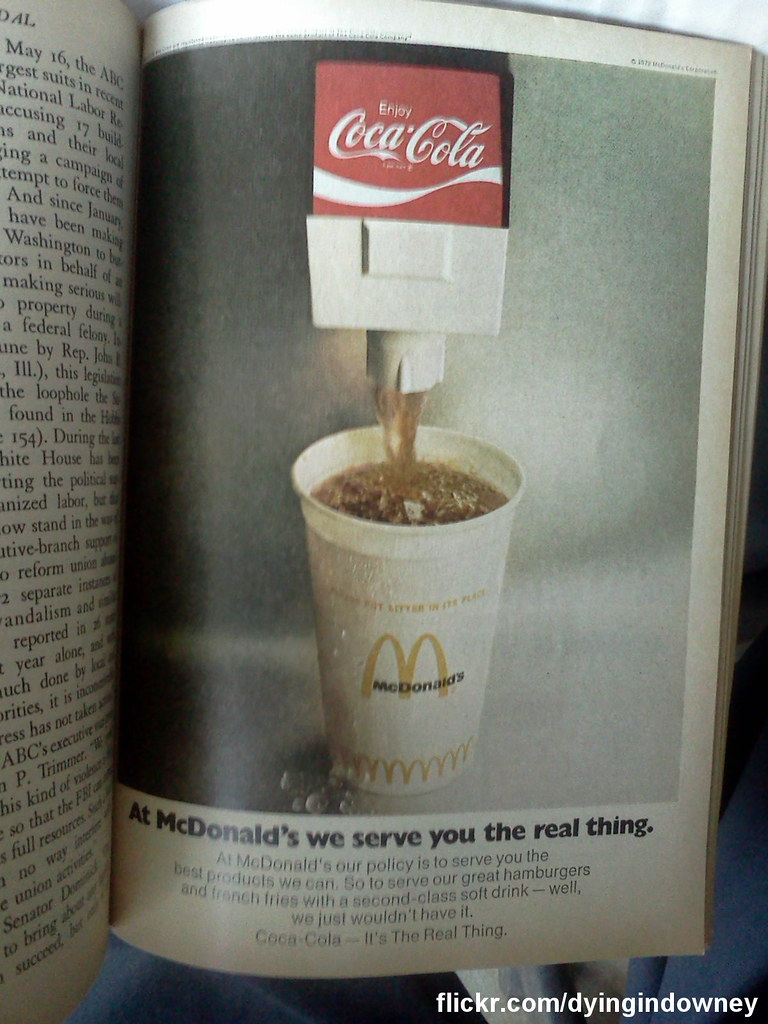 old Coca Cola ad out of Readers Digest   Just got a whole bu